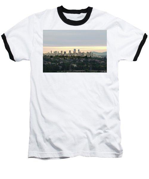 Downtown Sunset Baseball T-Shirt