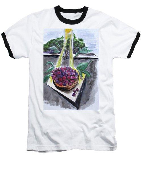 Dreams Of Grapes Baseball T-Shirt