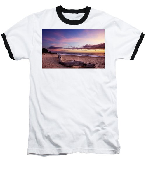 Driftwood At Sunset Baseball T-Shirt