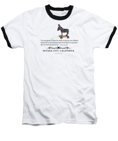 Educational Treasure Baseball T-Shirt