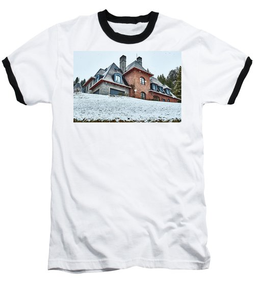 Baseball T-Shirt featuring the photograph El Messidor Residence In Villa La Angostura by Eduardo Jose Accorinti