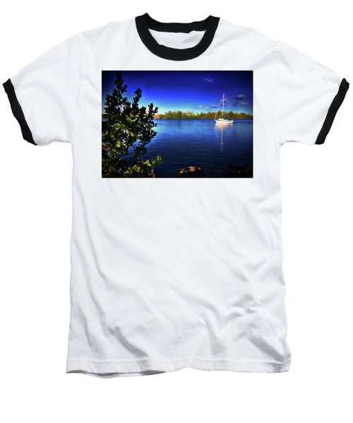 Elixir Sailboat Baseball T-Shirt