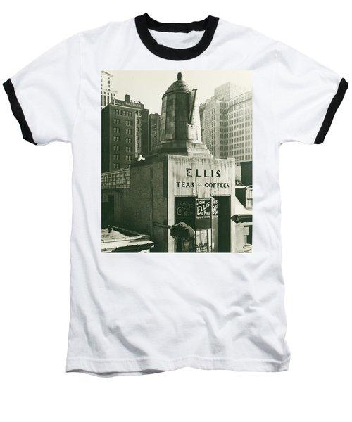 Ellis Tea And Coffee Store, 1945 Baseball T-Shirt
