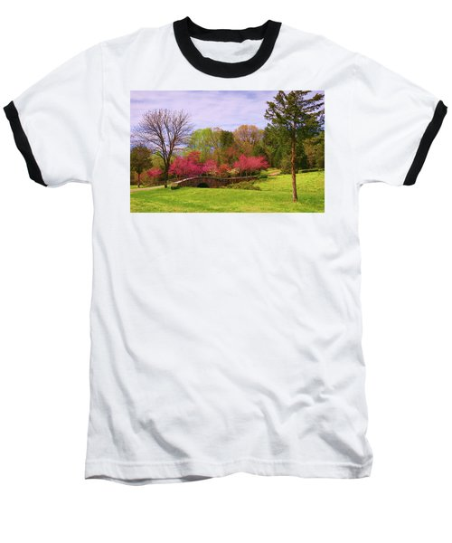 Entrance To Rassawek Vineyard In Columbia Virginia Baseball T-Shirt
