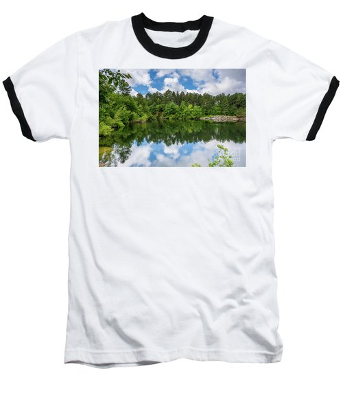 Euchee Creek Park - Grovetown Trails Near Augusta Ga 1 Baseball T-Shirt