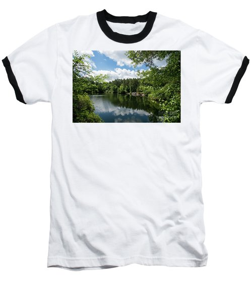 Euchee Creek Park - Grovetown Trails Near Augusta Ga 2 Baseball T-Shirt