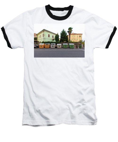 European New Topographics 4 Baseball T-Shirt