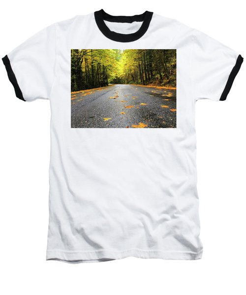 Fall Drive Baseball T-Shirt