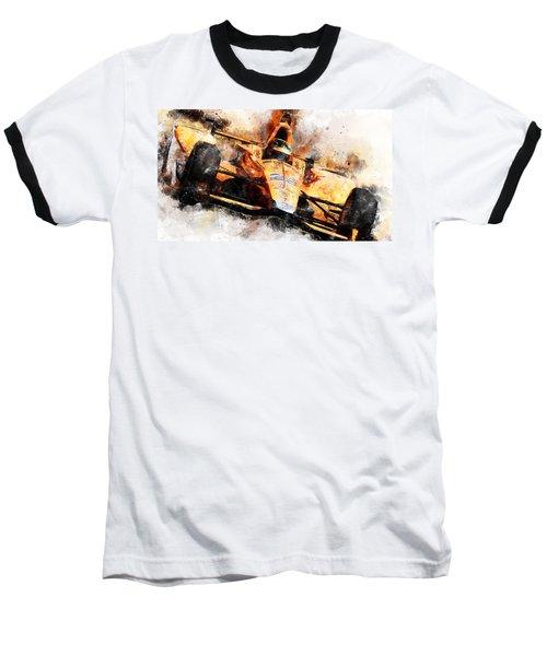 Fernando Alonso, Indy 500 - 04 Baseball T-Shirt