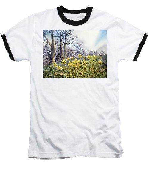 Field Of Hope At Burton Agnes Baseball T-Shirt