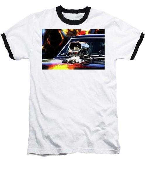 Flames To Go Baseball T-Shirt
