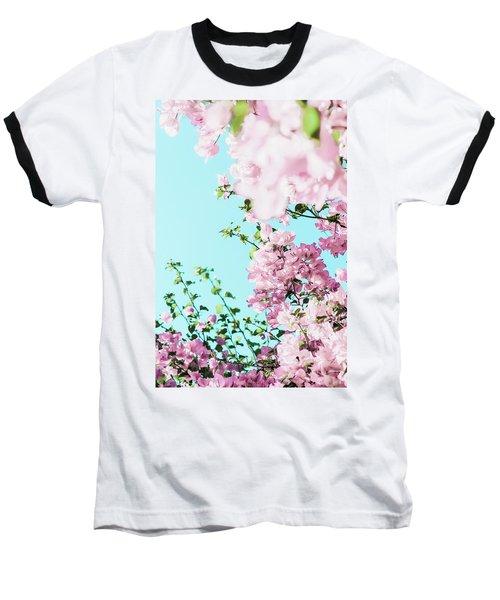 Floral Dreams I Baseball T-Shirt