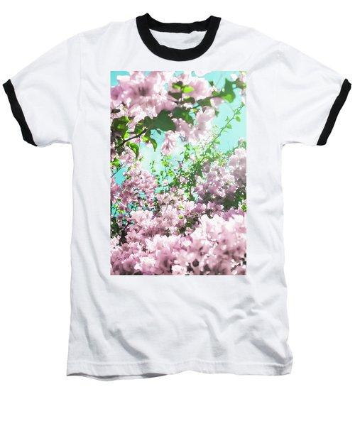 Floral Dreams Iv Baseball T-Shirt