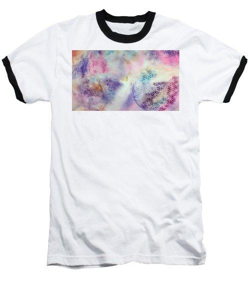 Flower Of Life Baseball T-Shirt