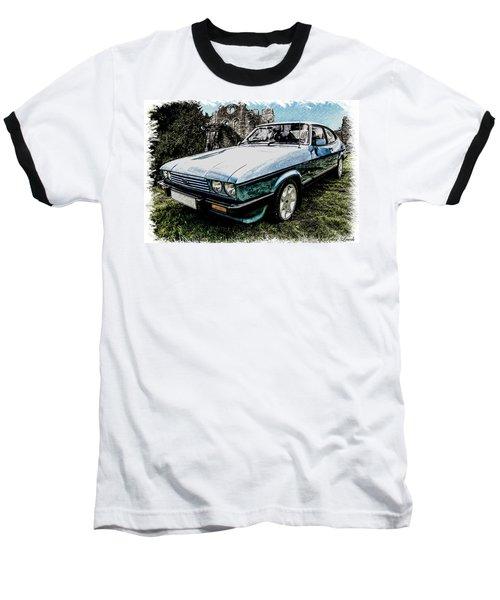 Ford Capri 3.8i Pencil V2 Baseball T-Shirt