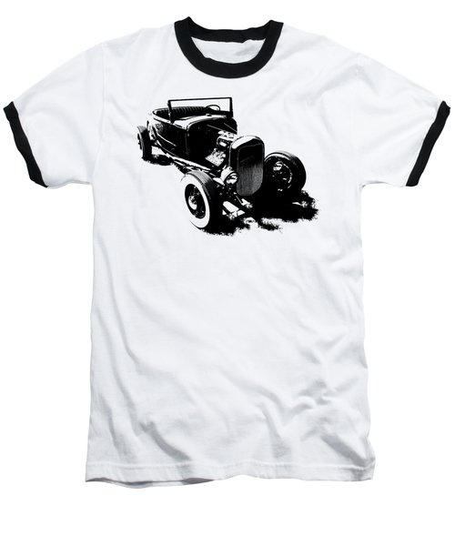 Ford Flathead Roadster Two Blk Baseball T-Shirt