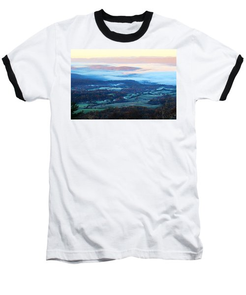 Frosty Autumn Baseball T-Shirt