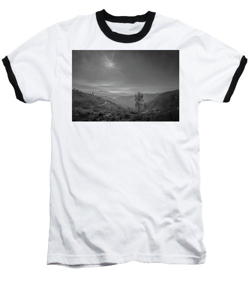 Baseball T-Shirt featuring the photograph Geres - One Tree by Bruno Rosa