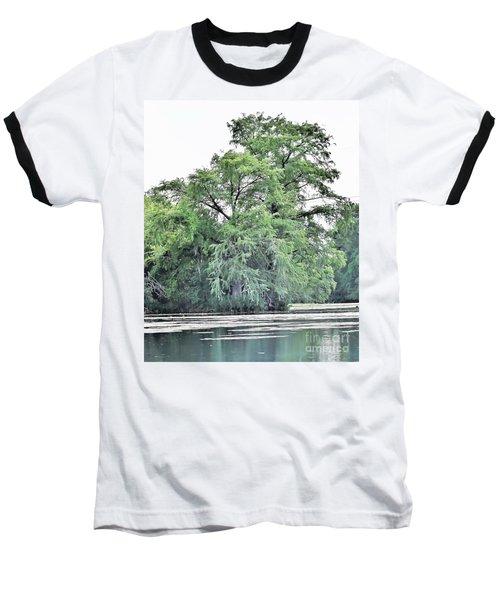 Giant River Tree Baseball T-Shirt