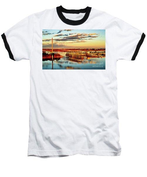 Golden Hour Bridge Baseball T-Shirt