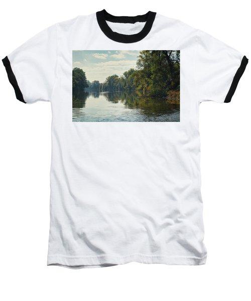 Great Morava River Baseball T-Shirt