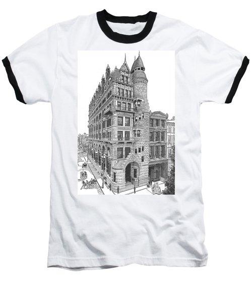 Hale Building Baseball T-Shirt