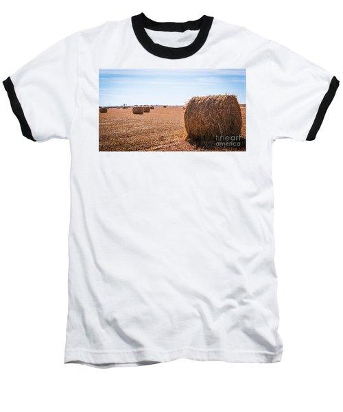 Hay Rolls Baseball T-Shirt