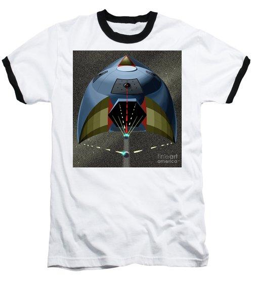 Head On Attack Baseball T-Shirt