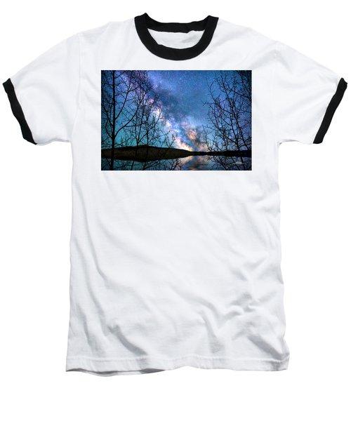 Heaven And Earth Baseball T-Shirt