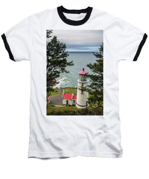 Heceta Head Lighthouse Baseball T-Shirt