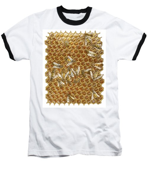 Honey Bees Baseball T-Shirt