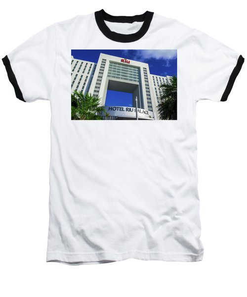 Hotel Riu Palace In Cancun Baseball T-Shirt