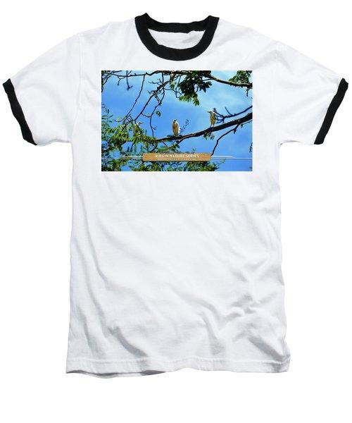 Ibis Perch - Virgin Nature Series Baseball T-Shirt