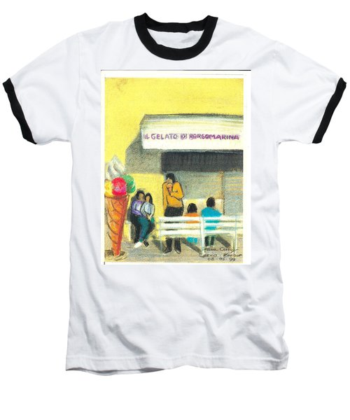 Il Gelato De Borgo Marina Baseball T-Shirt