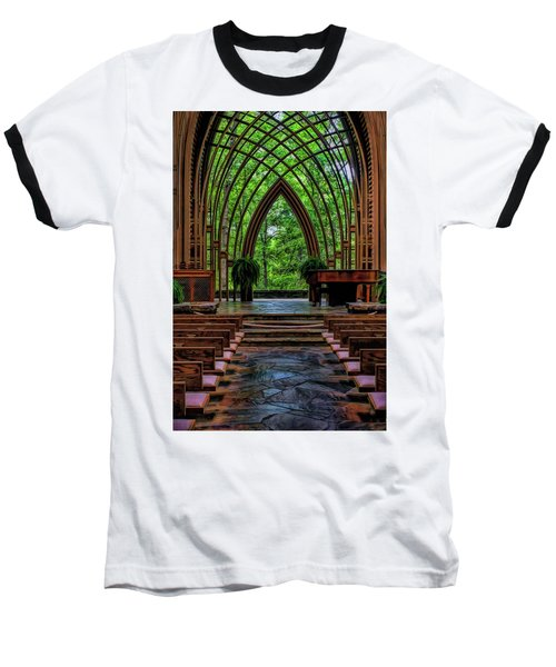 Inside The Chapel Baseball T-Shirt