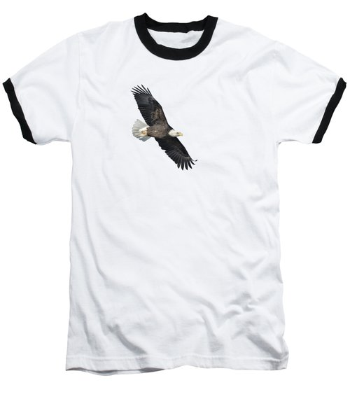 Isolated Bald Eagle 2018-2 Baseball T-Shirt