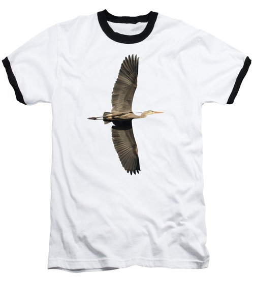 Isolated Great Blue Heron 2018-1 Baseball T-Shirt