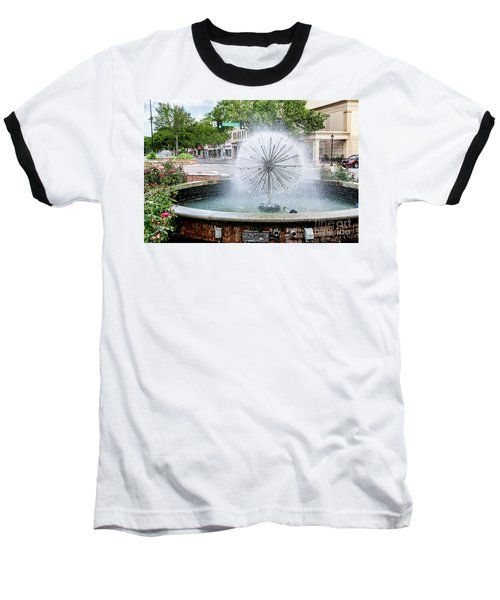 James Brown Blvd Fountain - Augusta Ga Baseball T-Shirt