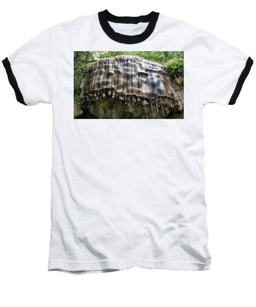 Knaresborough, Stone Waterfall Baseball T-Shirt