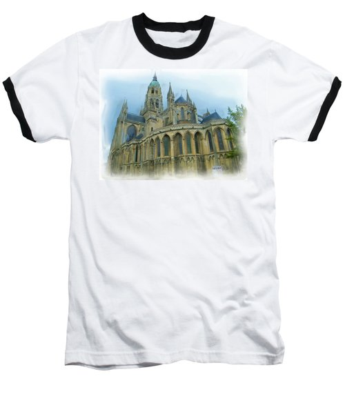 La Cathedrale De Bayeux Baseball T-Shirt