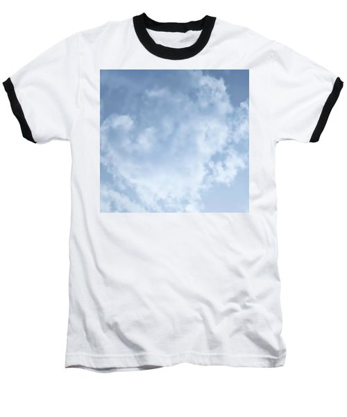 Baseball T-Shirt featuring the photograph Lace Agate Sky by Judy Kennedy