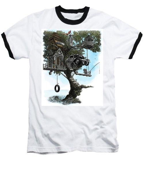 Lake Front Dream House Baseball T-Shirt