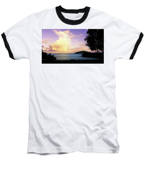 Last Rainbow Of The Day Baseball T-Shirt