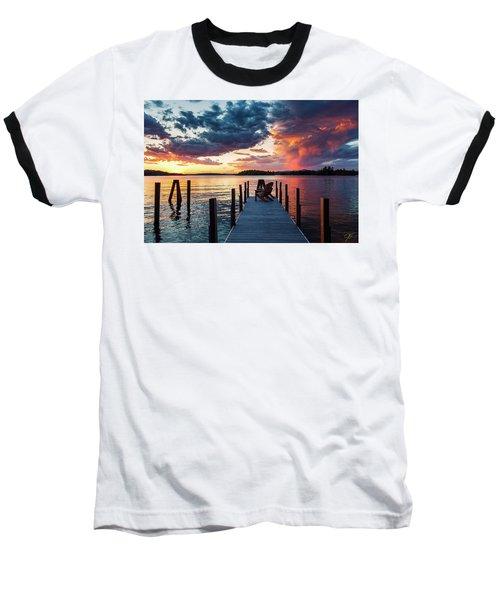 Late Summer Storm. Baseball T-Shirt