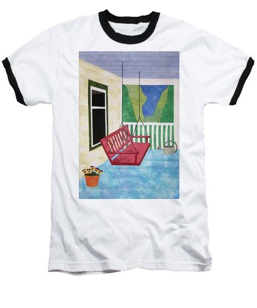 Lazy Summer Afternoon Baseball T-Shirt