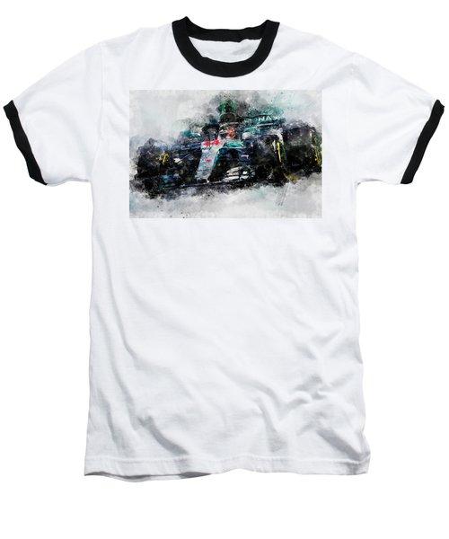 Lewis Hamilton, Mercedes Amg F1 W09 - 10 Baseball T-Shirt