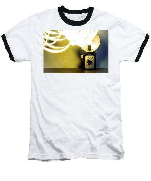 Lights, Camera, Action Baseball T-Shirt