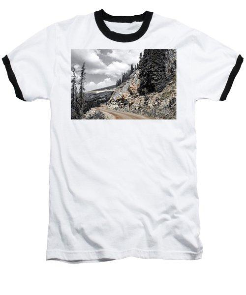 Living On The Edge Baseball T-Shirt