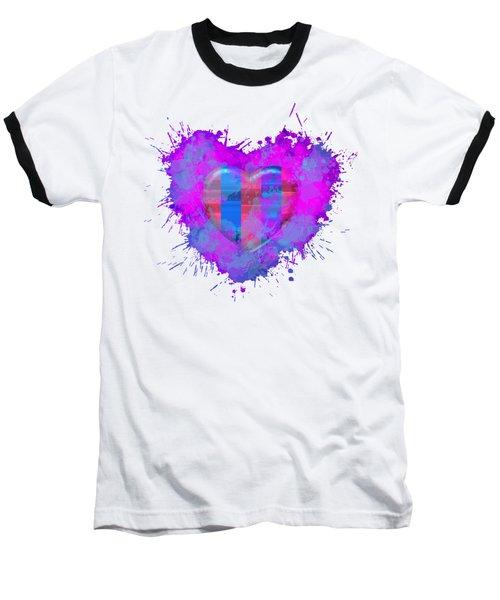 Love Barcelona Baseball T-Shirt