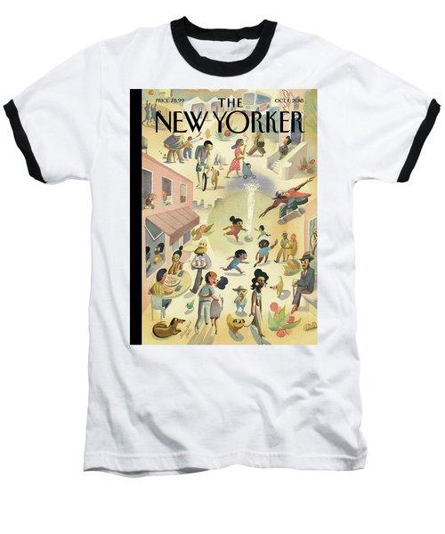 Lower East Side Baseball T-Shirt